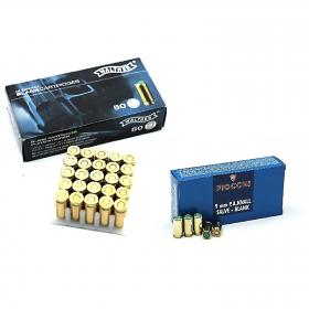 Náboj akustický 9mm P.A. pro plynové pistole FIOCCHI - Walther