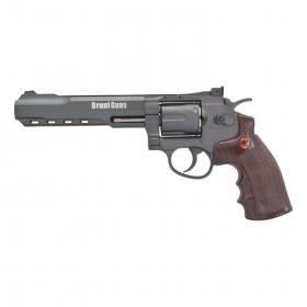Vzduchovkový revolver BRUNI SUPER SPORT 702 ČERNÝ 4,5mm