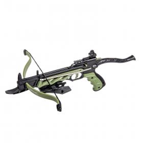 Pistolová kuše MANKUNG ALIGATOR 80lbs Green