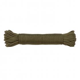 Šňůra Utility cord 4mm x 15m - zelená