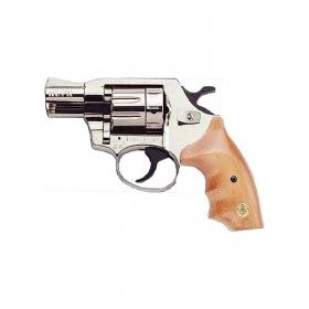 Revolver flobertka ALFA 620 nikl dřevo - 6mm