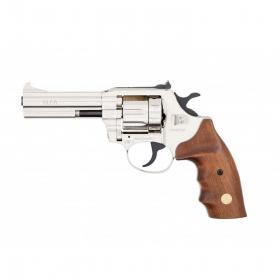 Revolver flobertka ALFA 641 nikl dřevo - 6mm