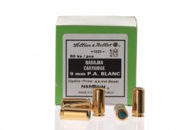 Náboj akustický 9mm P.A. pro plynové pistole Sellier Bellot